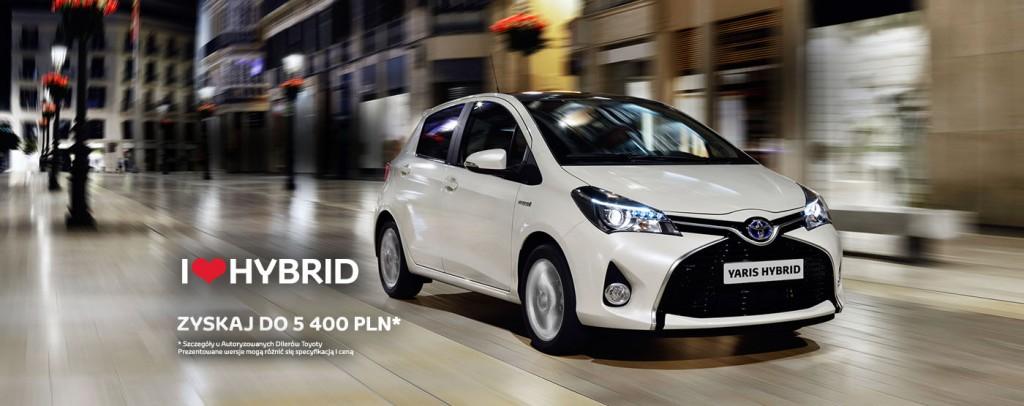 Toyota Yarid Hybrid